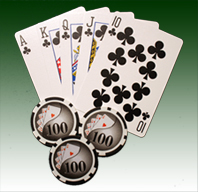 great hand of poker cards