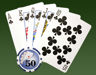 poker cards in great poker hand