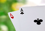 pair of aces in omaha poker